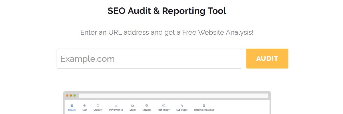 SEOptimer - Best Seo Audit Tools