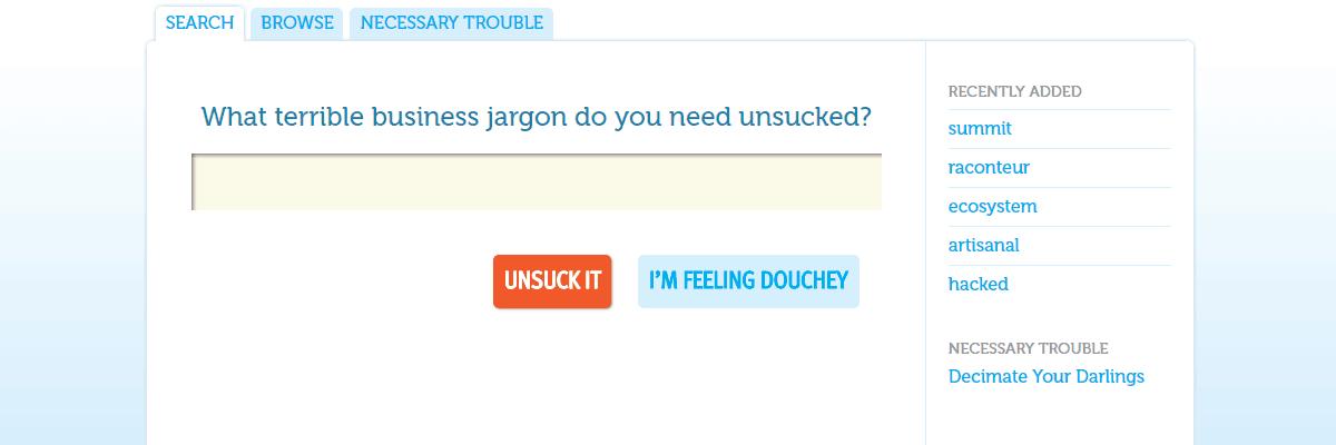 Unsuck It