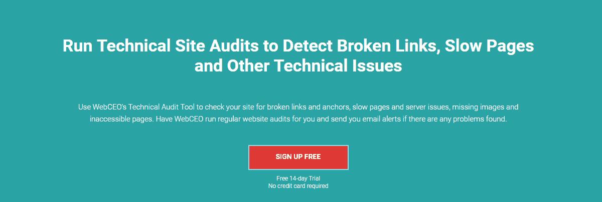 WebCEO - Best Seo Audit Tools