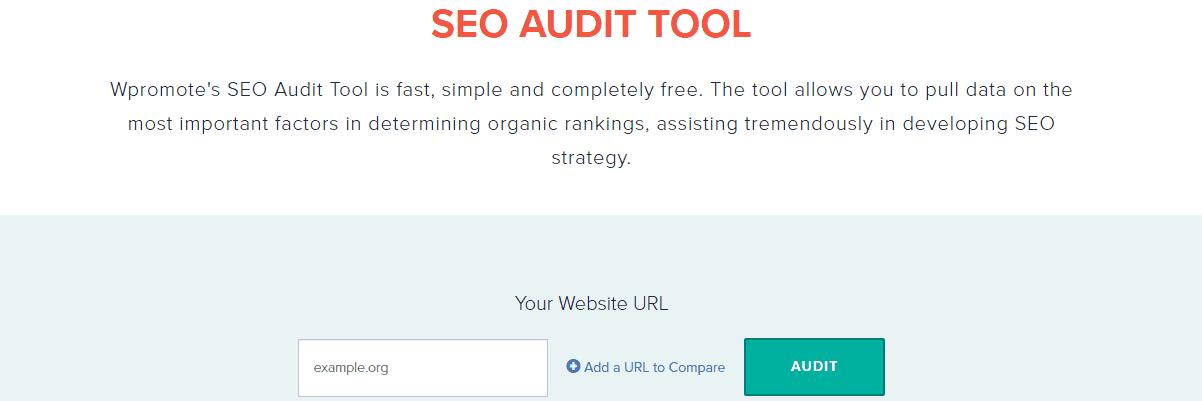 Wpromote - Best Seo Audit Tools