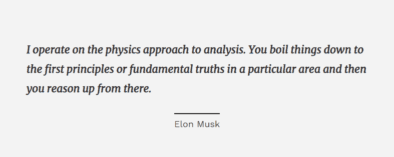 elon musk thought leadership marketing