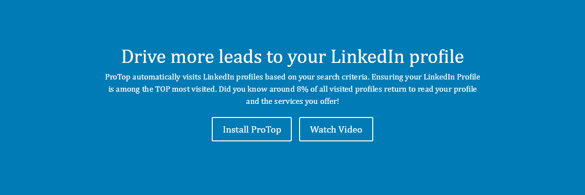 protop LinkedIn Tool