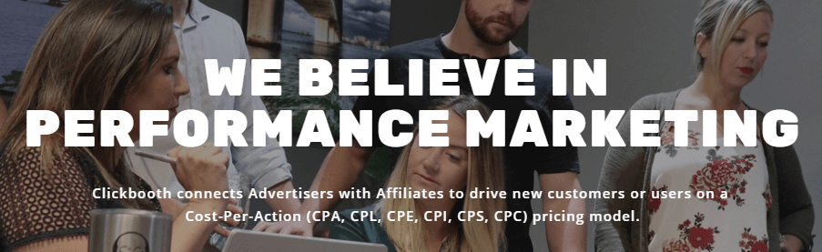 Clickbooth Affiliate Marketing Tool