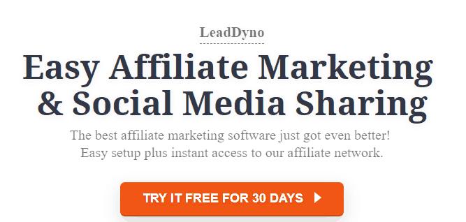 LeadDyno Affiliate Marketing Tool