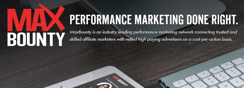 MaxBounty Affiliate Marketing Tool