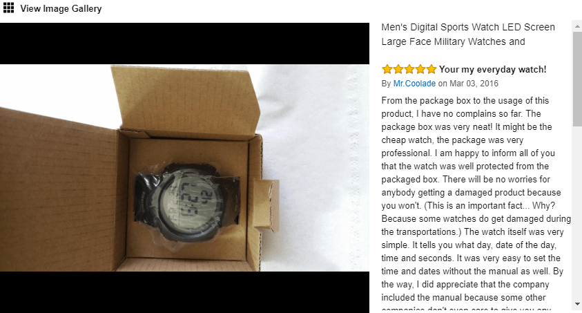 feature customer photos Ecommerce Product Page