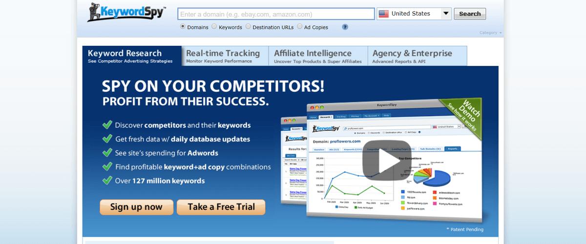 keywordspy Affiliate Marketing Tools