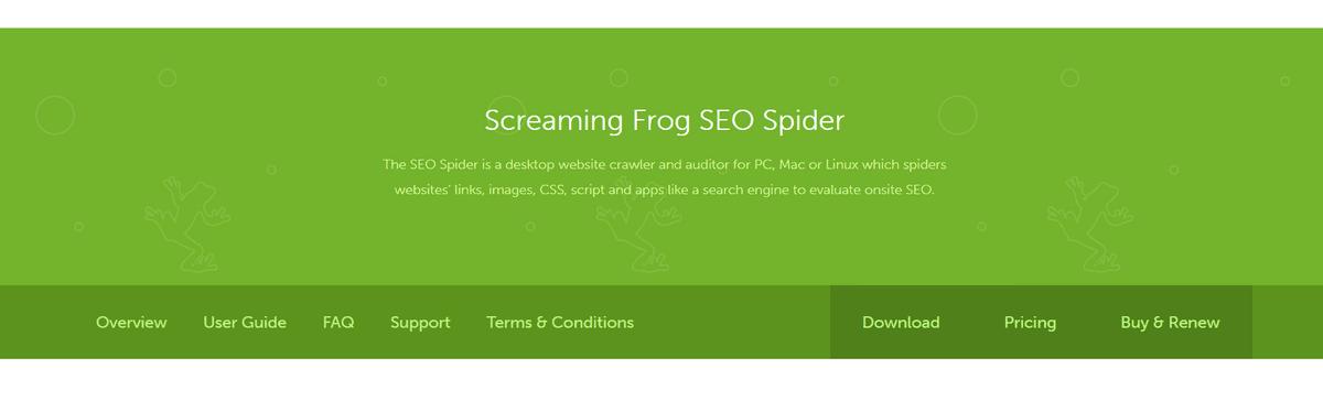 screamingfrog Affiliate Marketing Tools