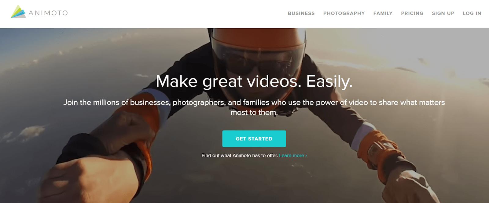 Animoto Video Marketing Tool