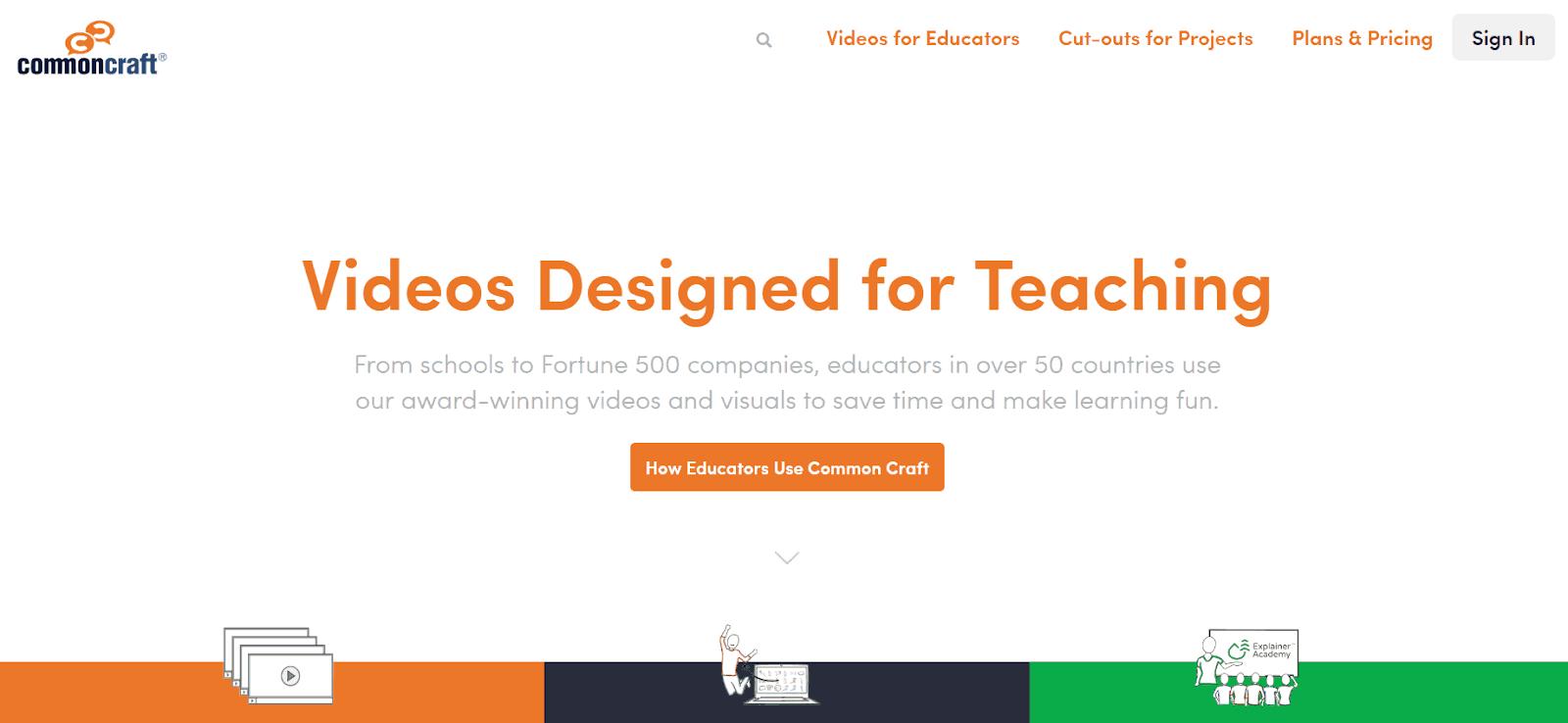 Common Craft Video Marketing Tool