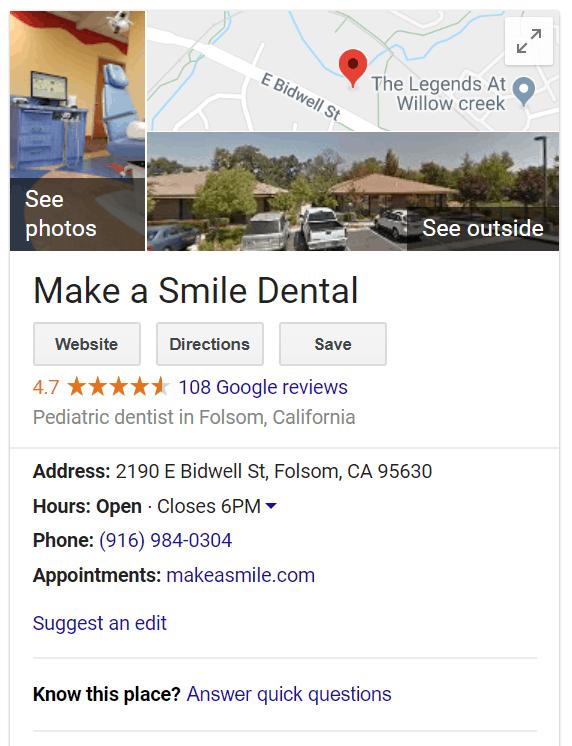 Google listing SEO techniques