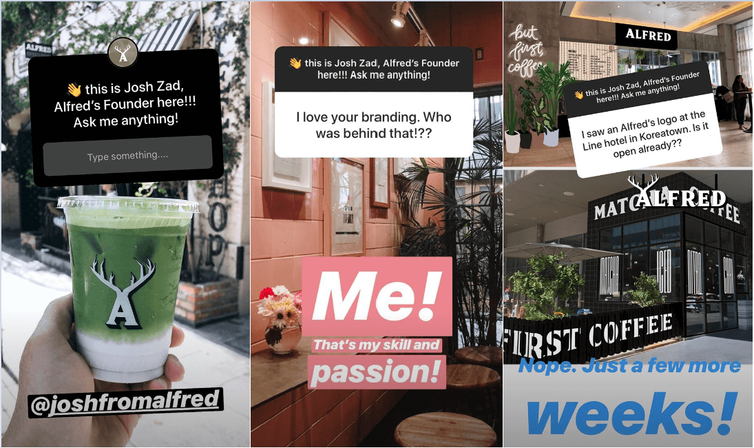 Josh Zad Instagram Stories Stickers