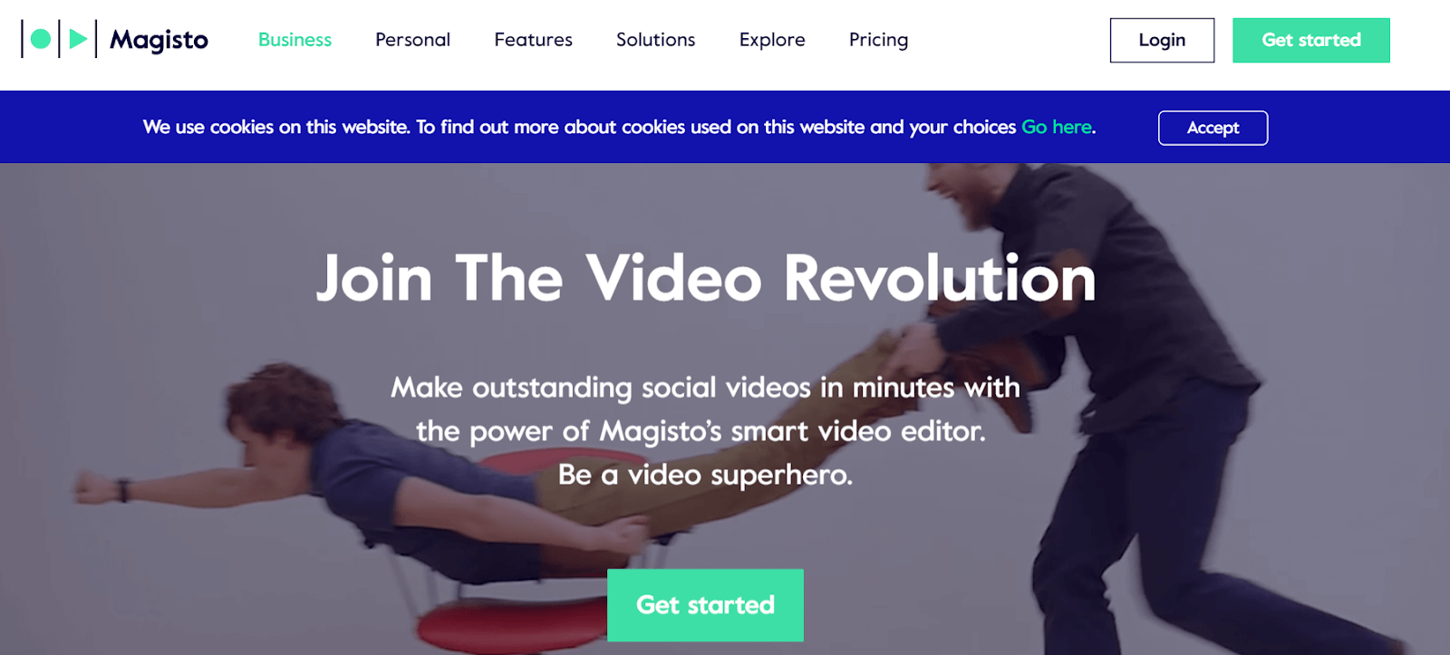 Magisto Video Marketing Tool