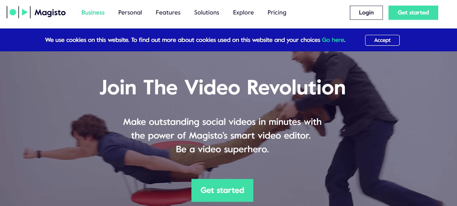 Magisto Video Marketing Tool
