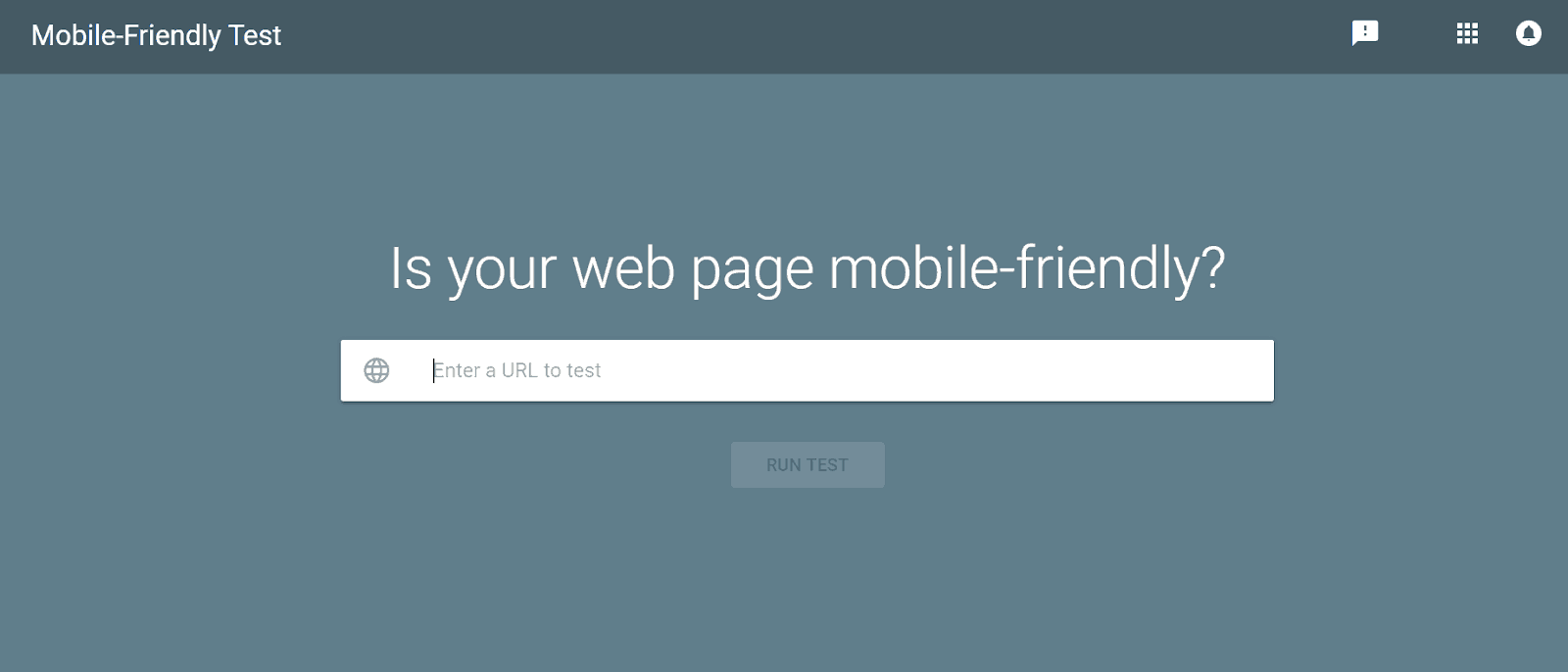 Mobile Friendly Test Mobile-First Indexing