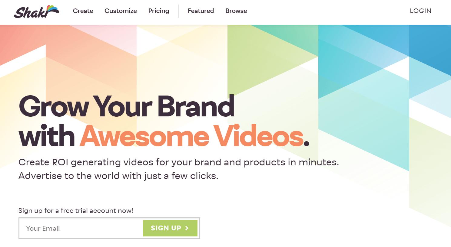 Shakr Video Marketing Tool
