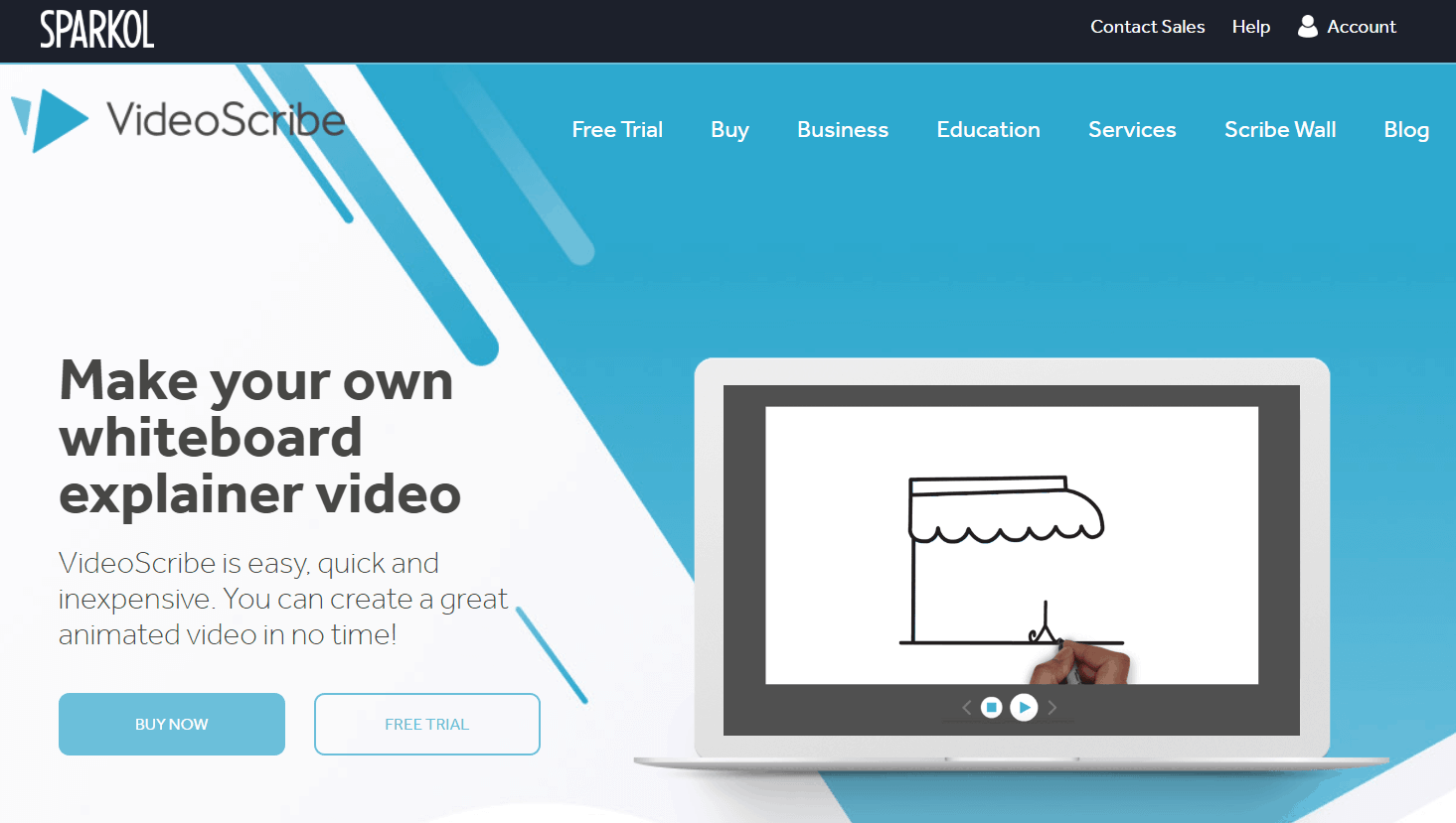 VideoScribe Video Marketing Tool