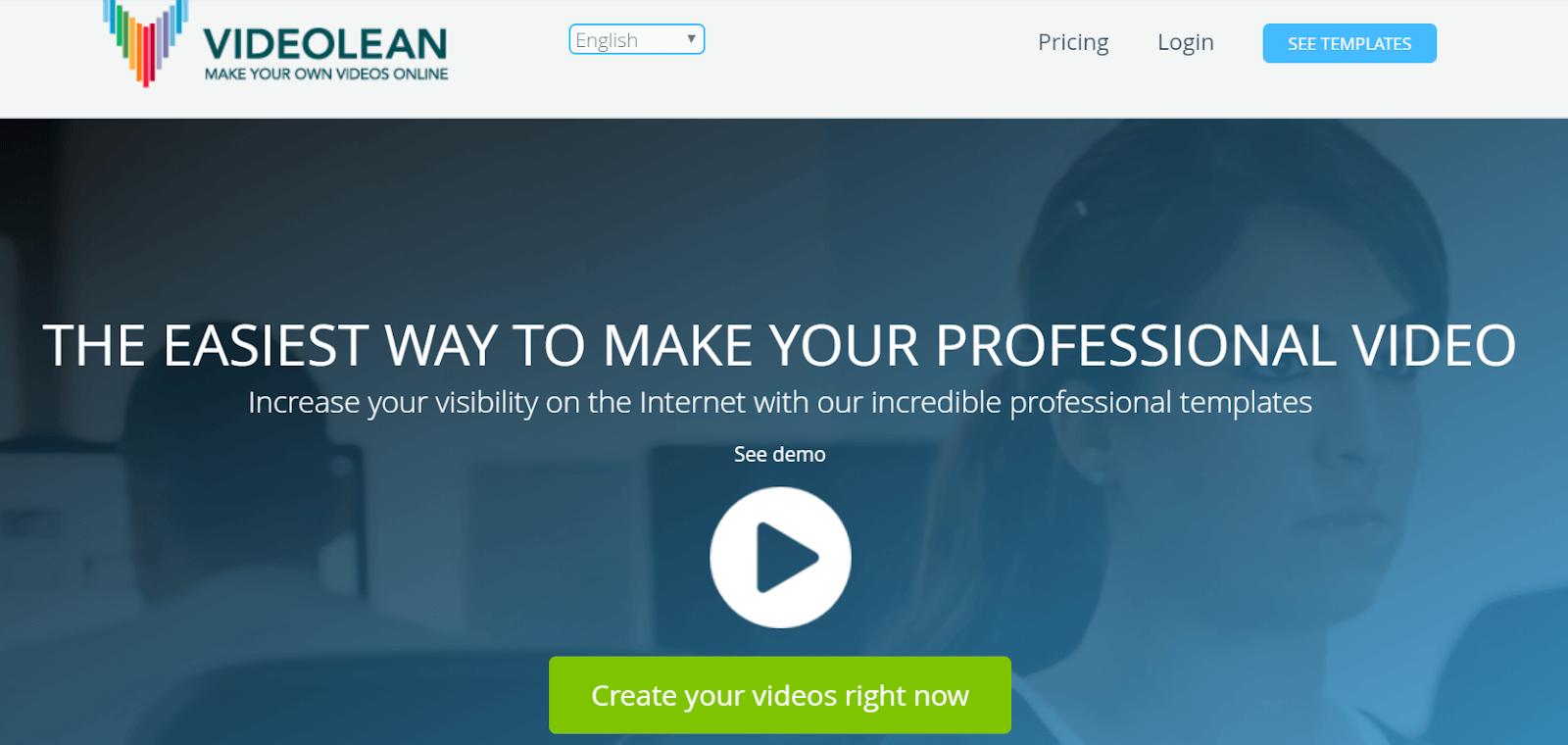 Videolean Video Marketing Tool