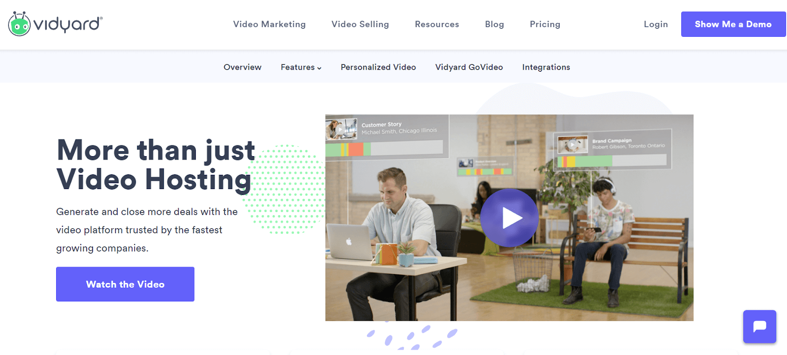Vidyard Video Marketing Tool