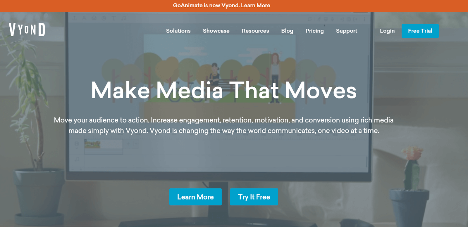 Vyond Video Marketing Tool