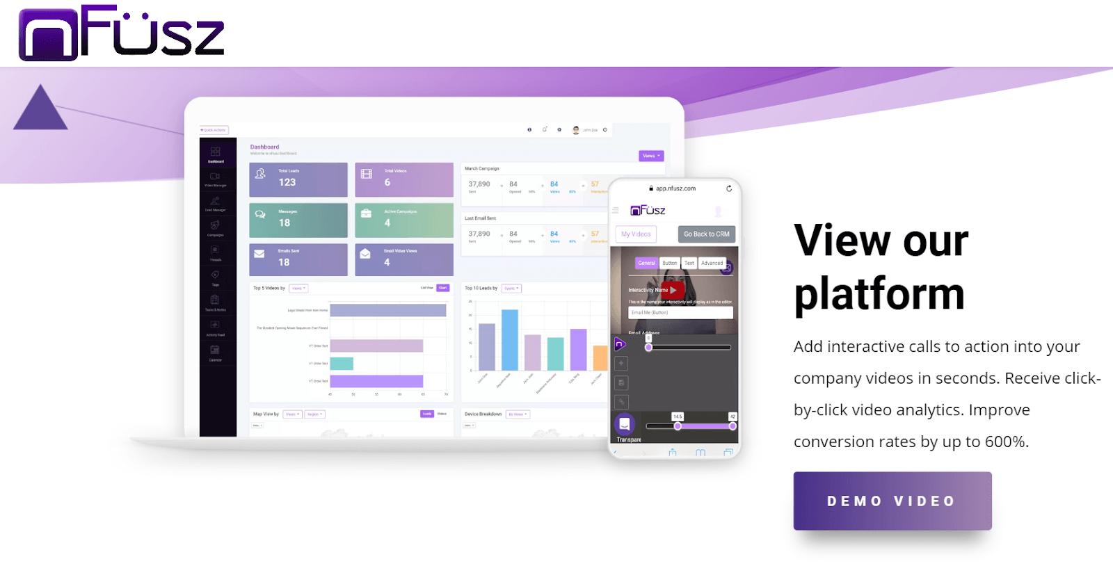 nFusz Video Marketing Tool