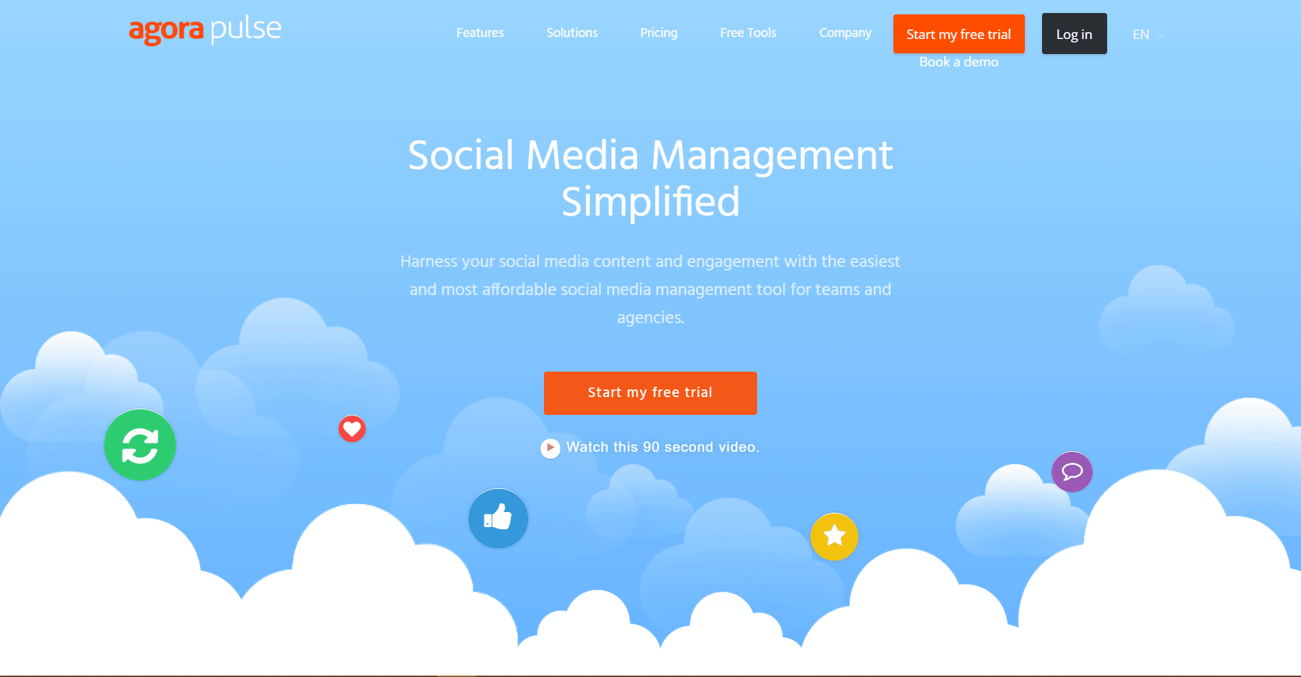 Agorapulse Social Media Marketing Tool