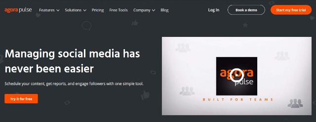 Agorapulse Video Marketing Tool