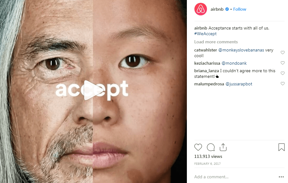 Airbnb instagram Hashtag Campaigns