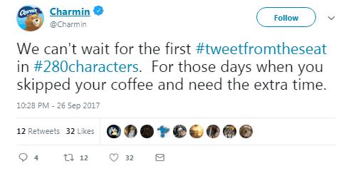 Charmin twitter Hashtag Campaigns