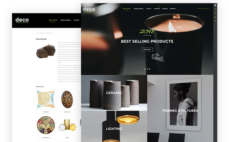 Deco Ecommerce Template
