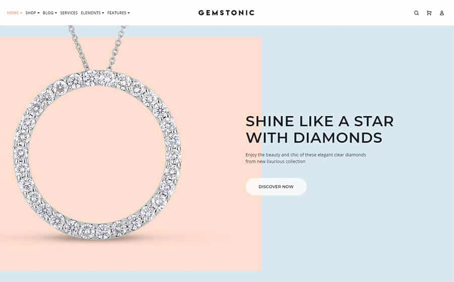 Gemstonic Ecommerce Template