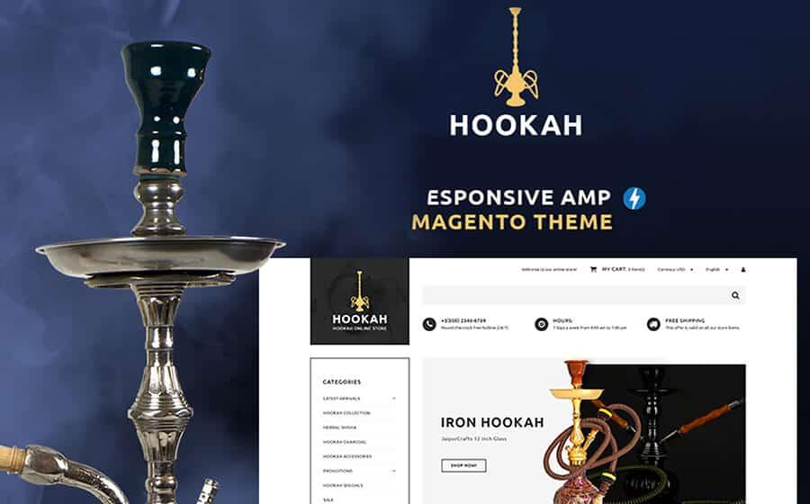 Hookah Ecommerce Template