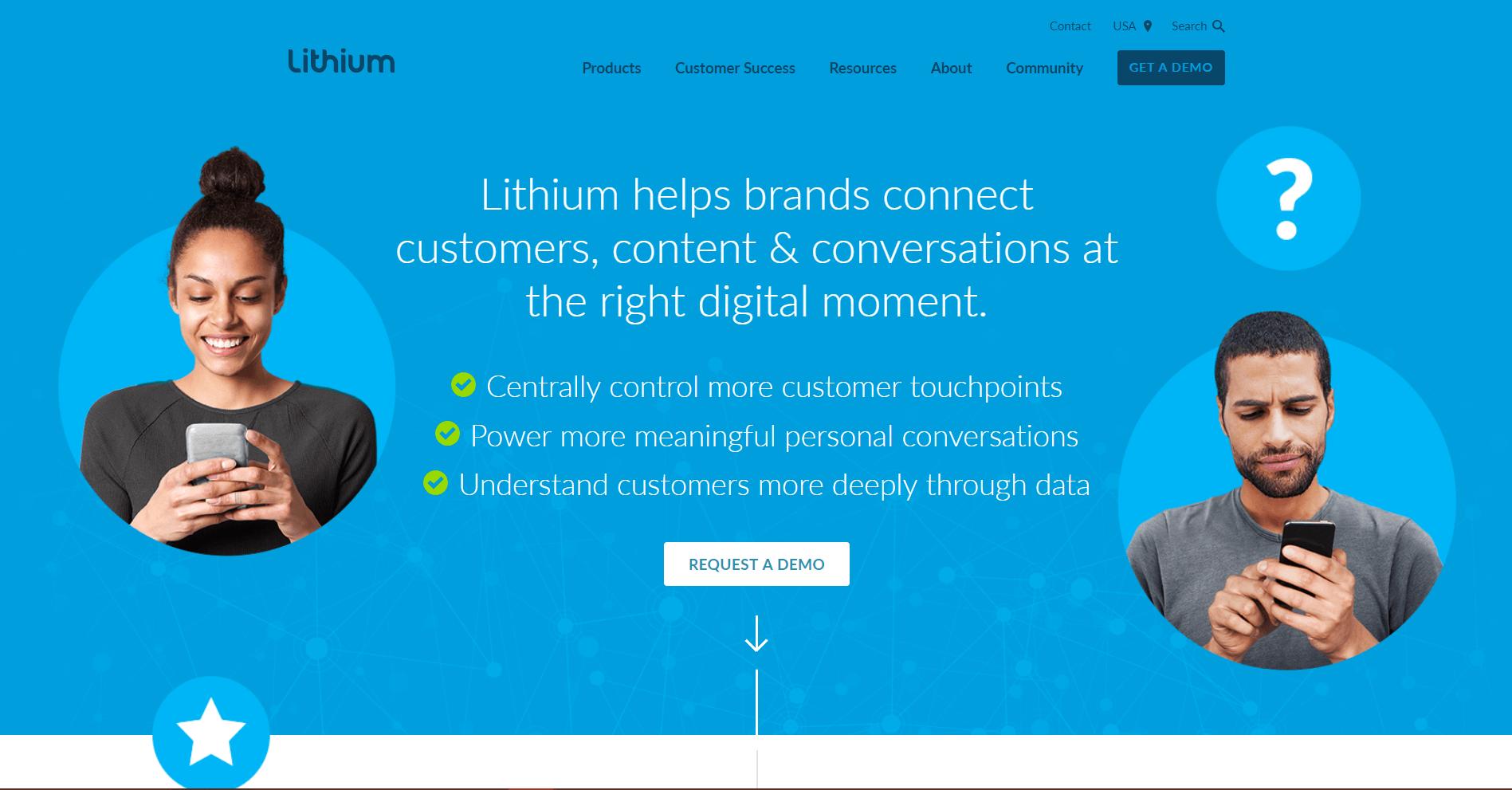 Lithium Social Media Marketing Tool