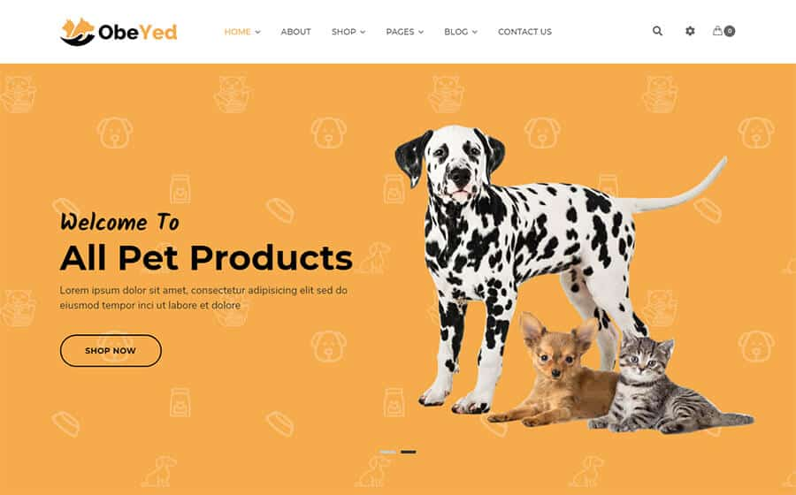 Obeyed Ecommerce Template