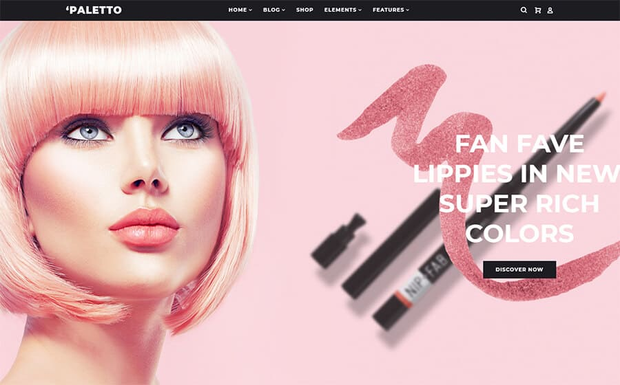 Paletto Ecommerce Template