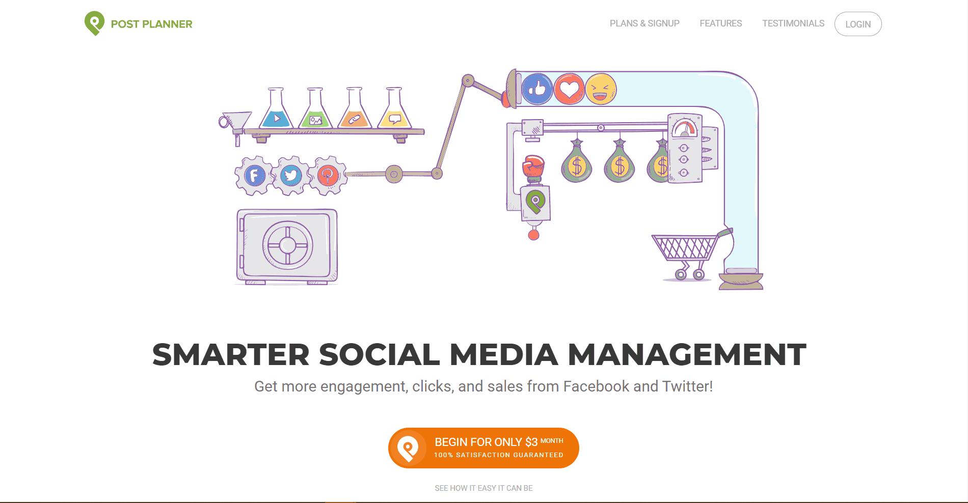 Post Planner Social Media Marketing Tool
