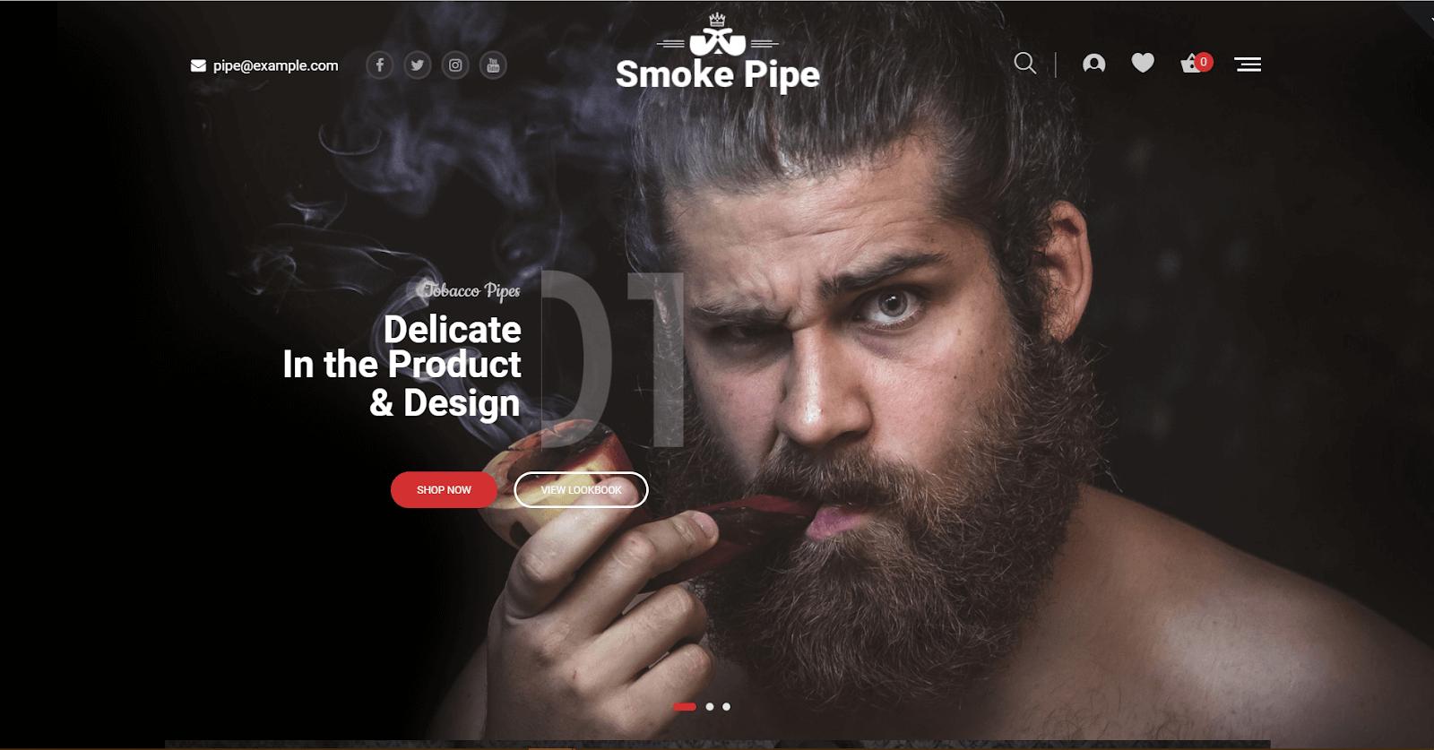 Smoke Ecommerce Template