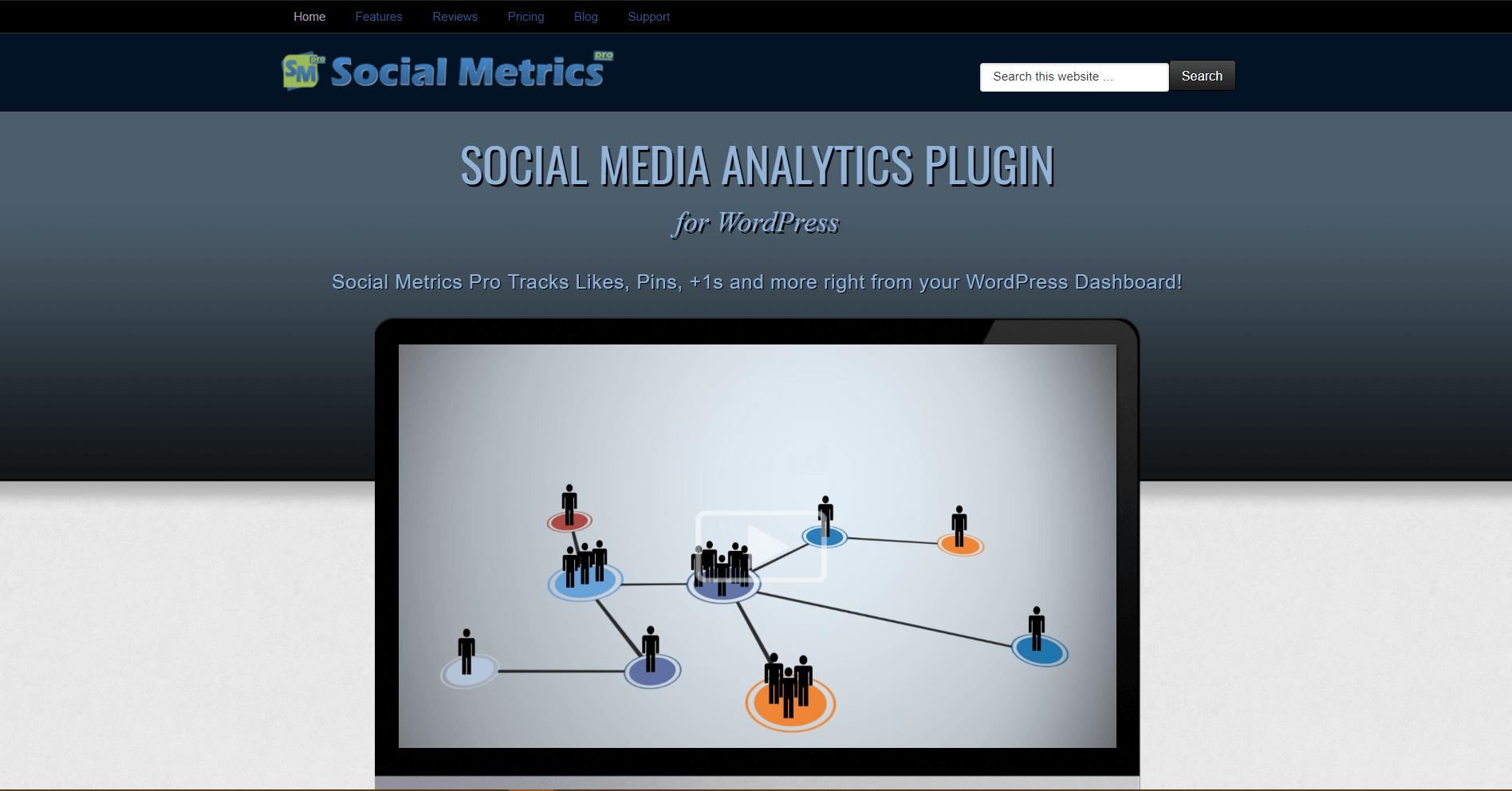 Social Metrics Pro Social Media Marketing Tool