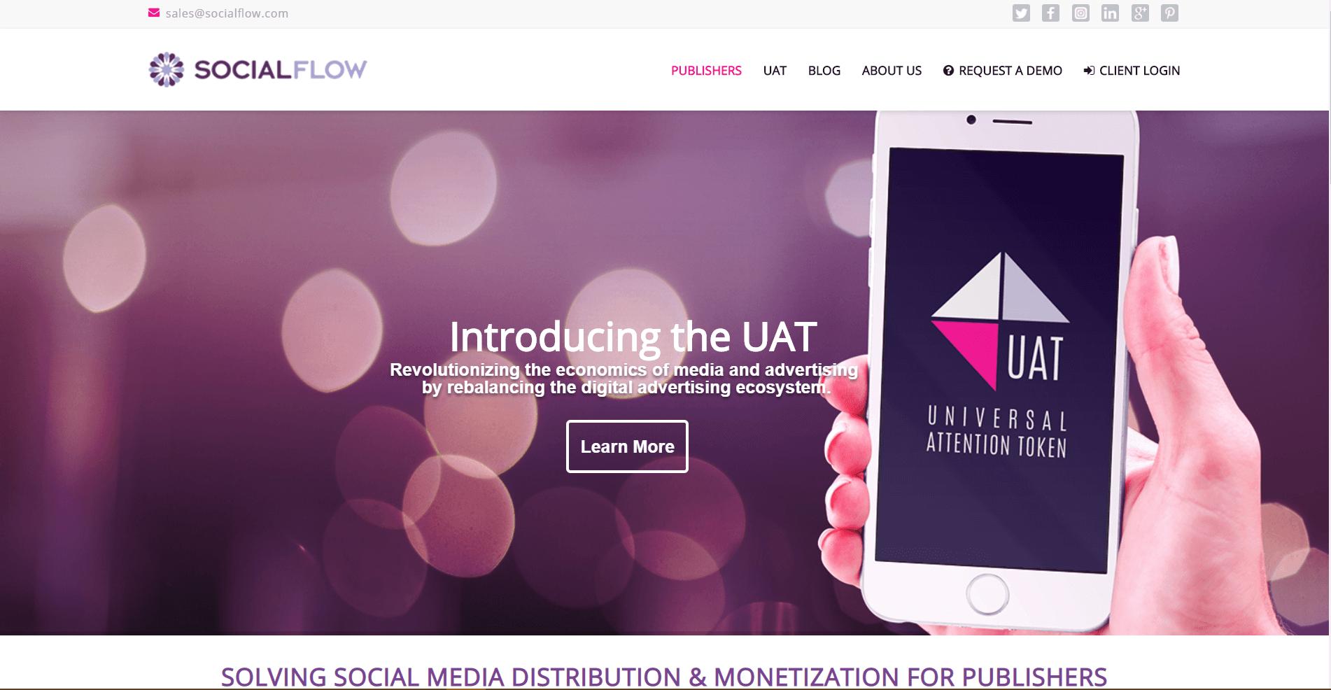 SocialFlow Social Media Marketing Tool
