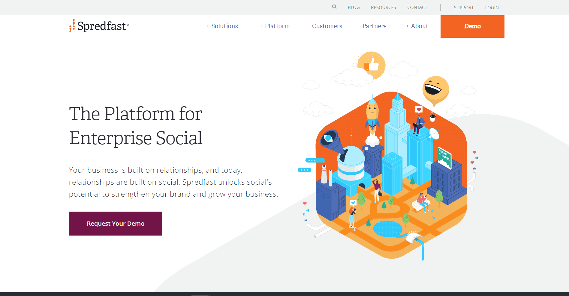 Spredfast Social Media Marketing Tool