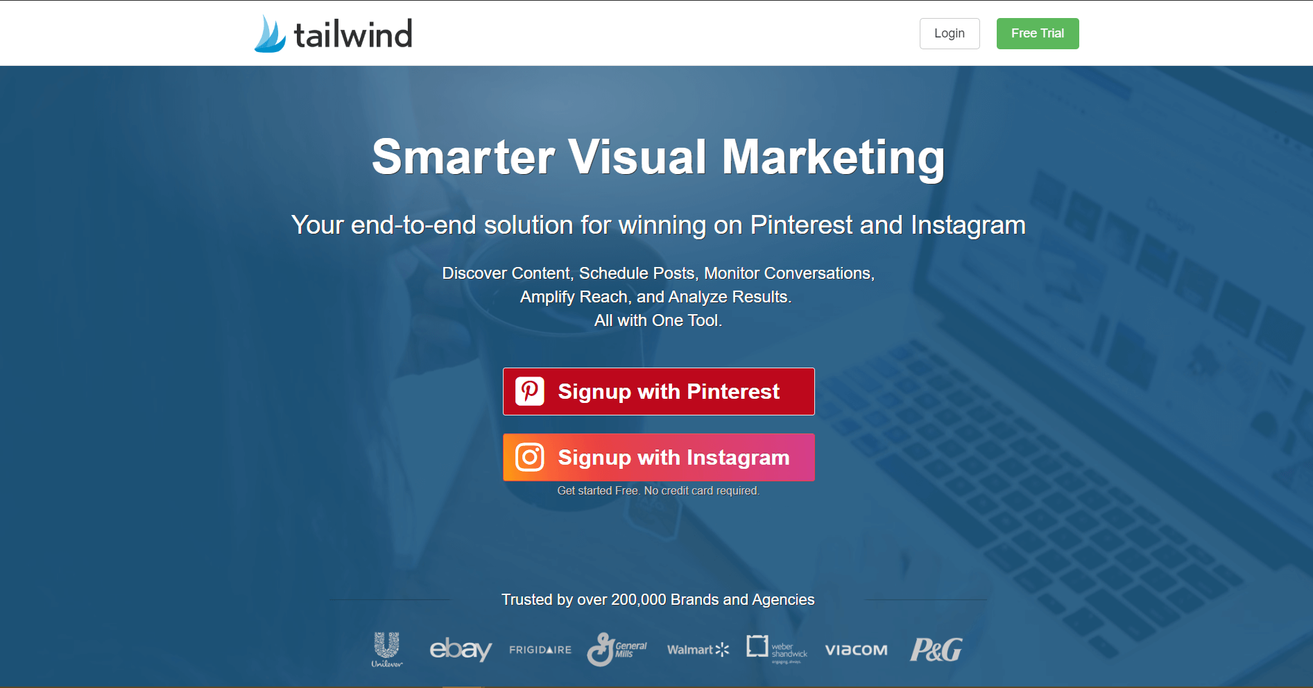 Tailwind Social Media Marketing Tool
