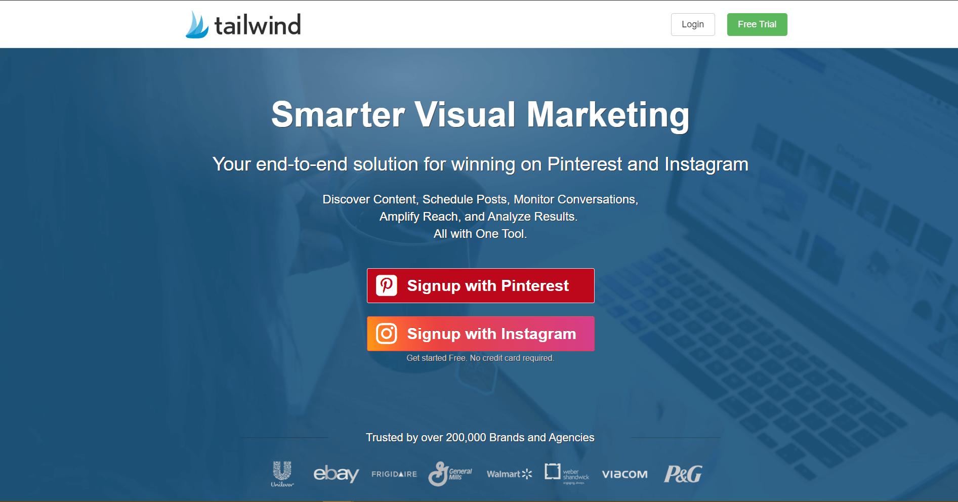 Tailwind Social Media Marketing Tool