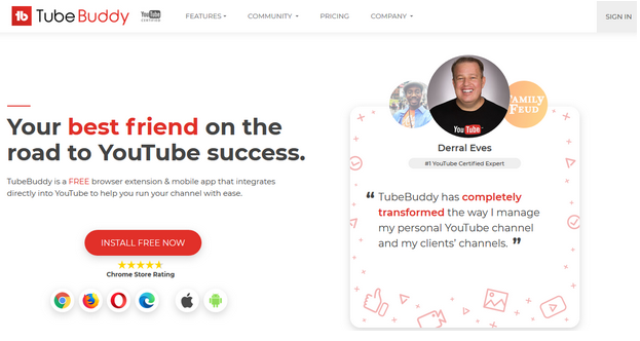 TubeBuddy Video Marketing Tool