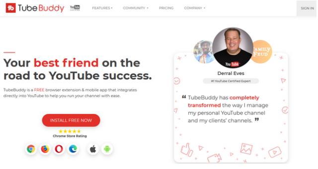 TubeBuddy Video Marketing Tool