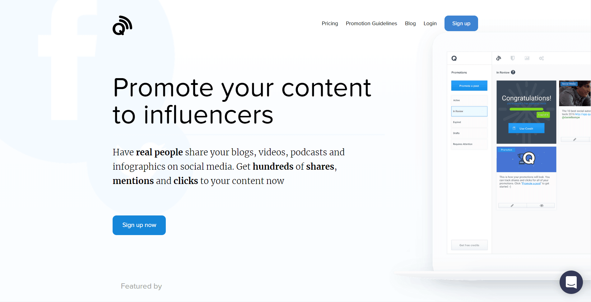 quuupromote Content Promotion Platforms and Tools