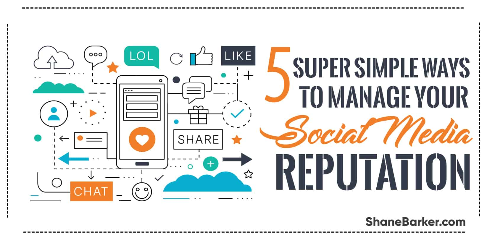 5 Super Simple Ways to Manage your Social Media Reputation-790x390