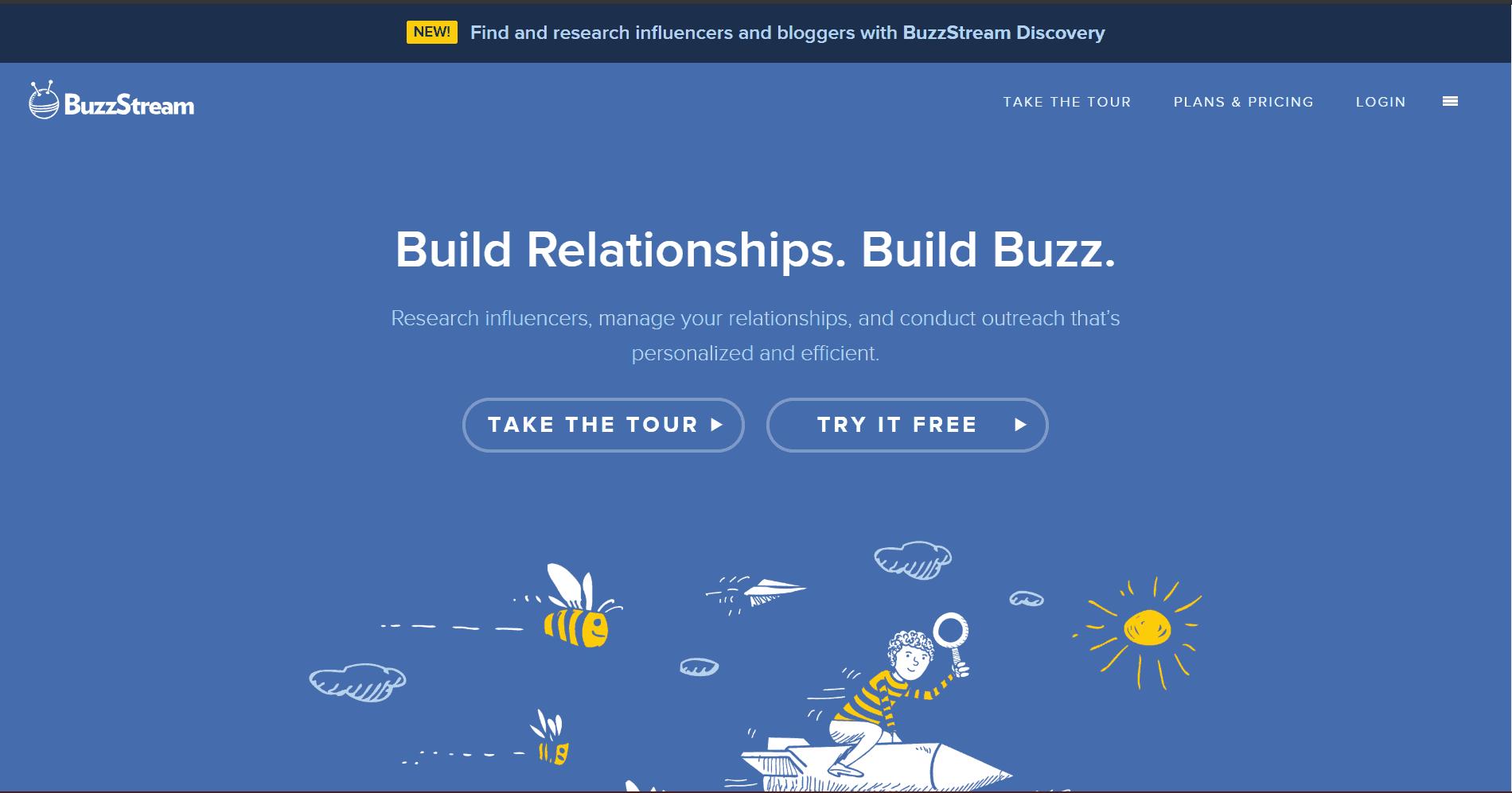 Buzzstream Blogger Outreach Tools