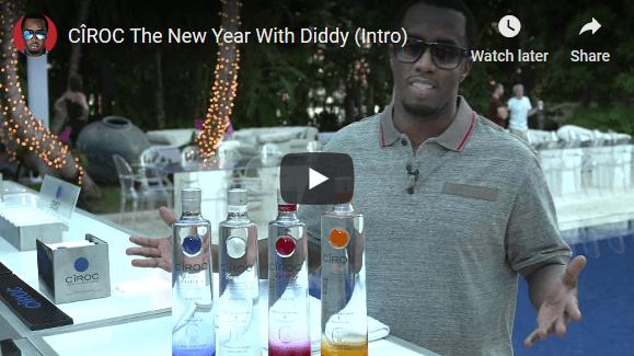 Ciroc youtube New Year Marketing Ideas