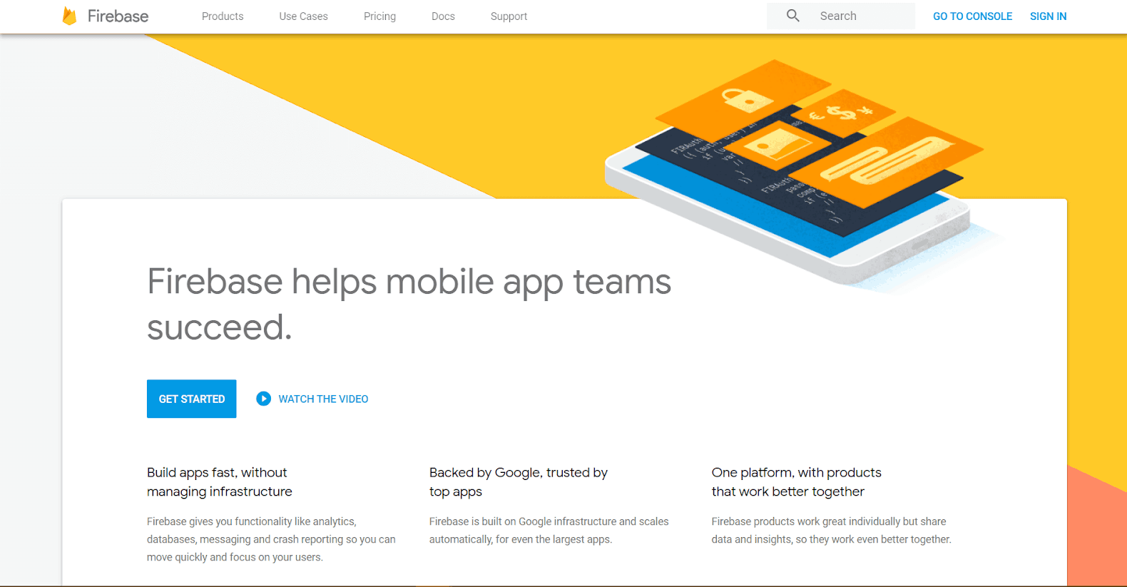 Firebase Google Tools