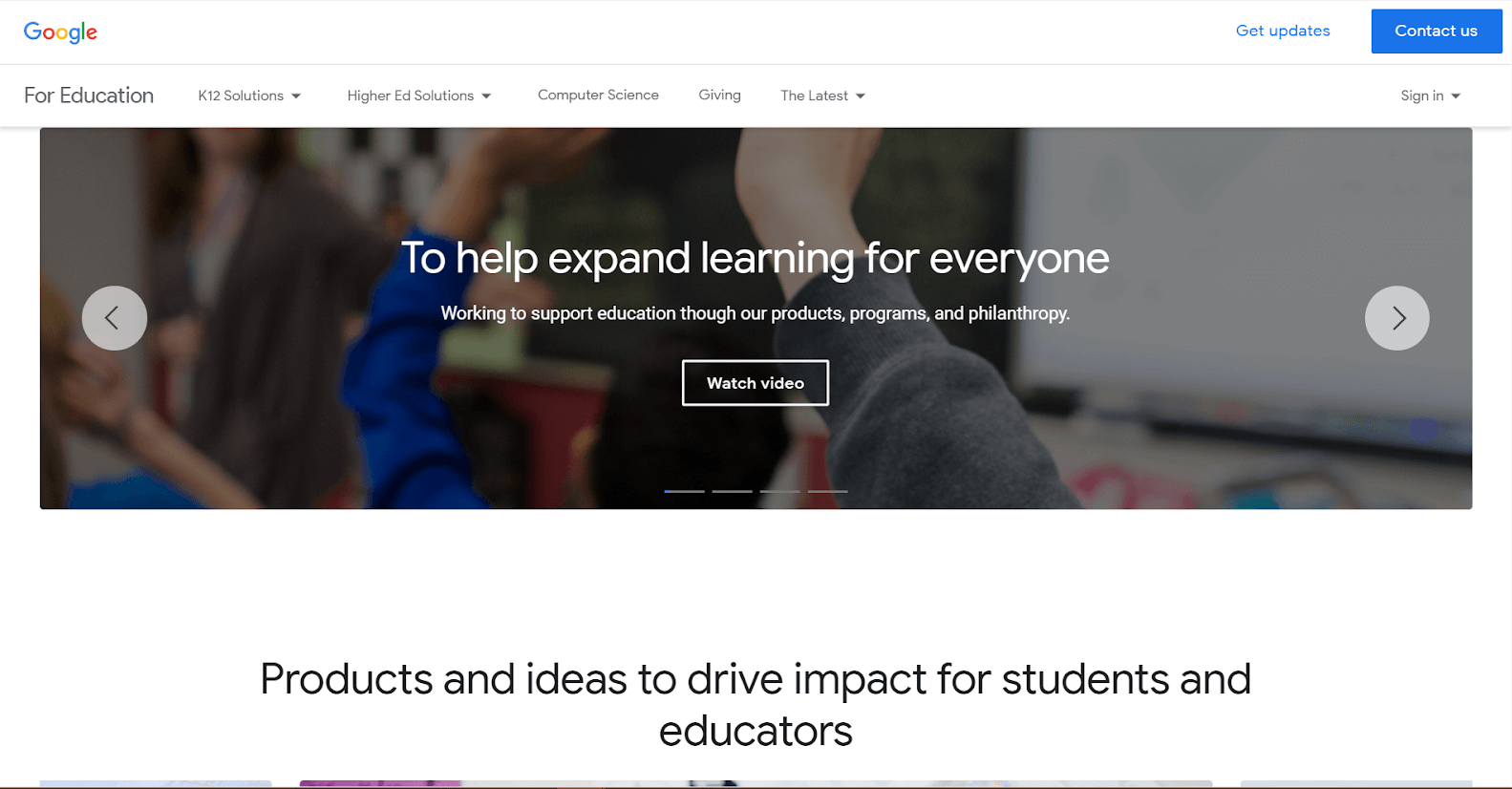G Suite for Education Google Tools
